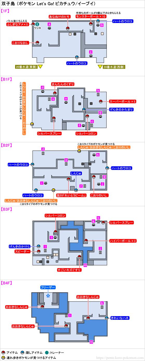 イーブイ ポケモン 攻略 レッツゴー 【ポケモンピカブイ】イーブイの進化条件と出現場所