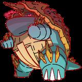 カジリガメ (キョダイマックスのすがた)